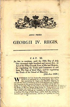 George IV Act