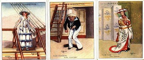 Players Cigarette Cards January 1928