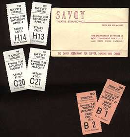 D'Oyly Carte tickets
