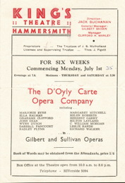 1946 King's Theatre programmes