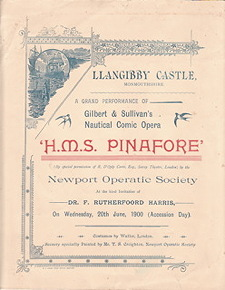 Pinafore program