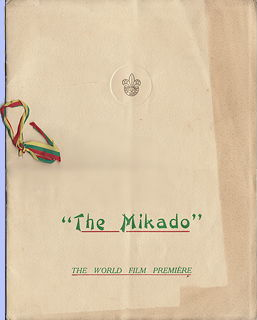 1939 Mikado movie
