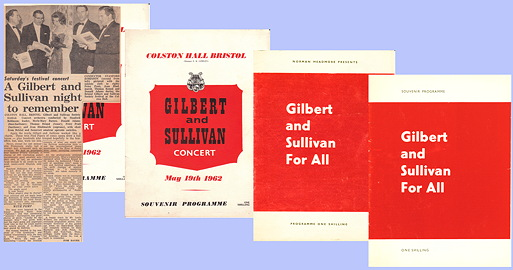 Gilbert and Sullivan Concert / For All
