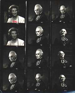 Gondoliers contact sheet