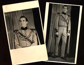 Kenneth Snadford as Count Egon in King's Rhapsody