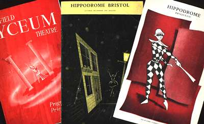 Three D'Oyly Carte programmes