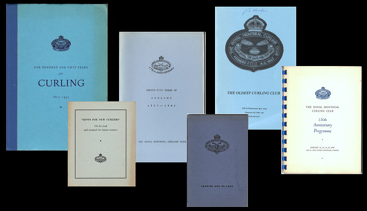 Collection relating to the Royal Montreal Curling Club
